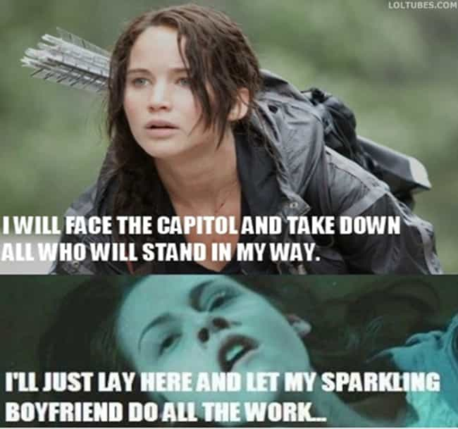 What is a strong woman? is listed (or ranked) 3 on the list The Best Hunger Games Memes