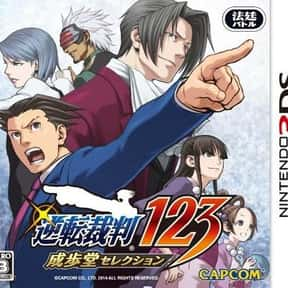 Phoenix Wright: Ace Attorney:  is listed (or ranked) 4 on the list The Best Ace Attorney Games