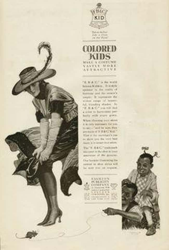 The Black Children Are a Pun o is listed (or ranked) 20 on the list Vintage Ads That Are Horribly Racist
