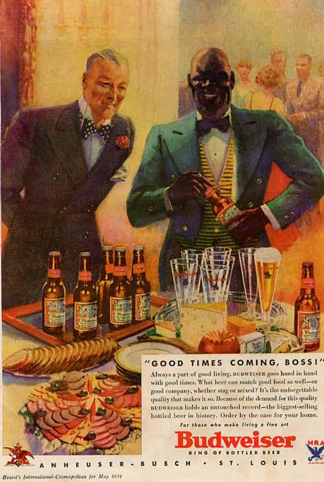 This Ad Is Racist Like a Boss! is listed (or ranked) 29 on the list Vintage Ads That Are Horribly Racist