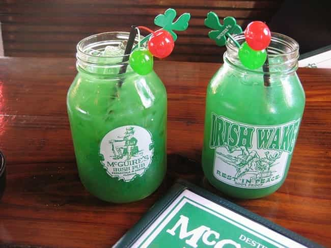 McGuire's Original Irish Wake is listed (or ranked) 3 on the list The Tastiest Drink Recipes for St. Patrick's Day
