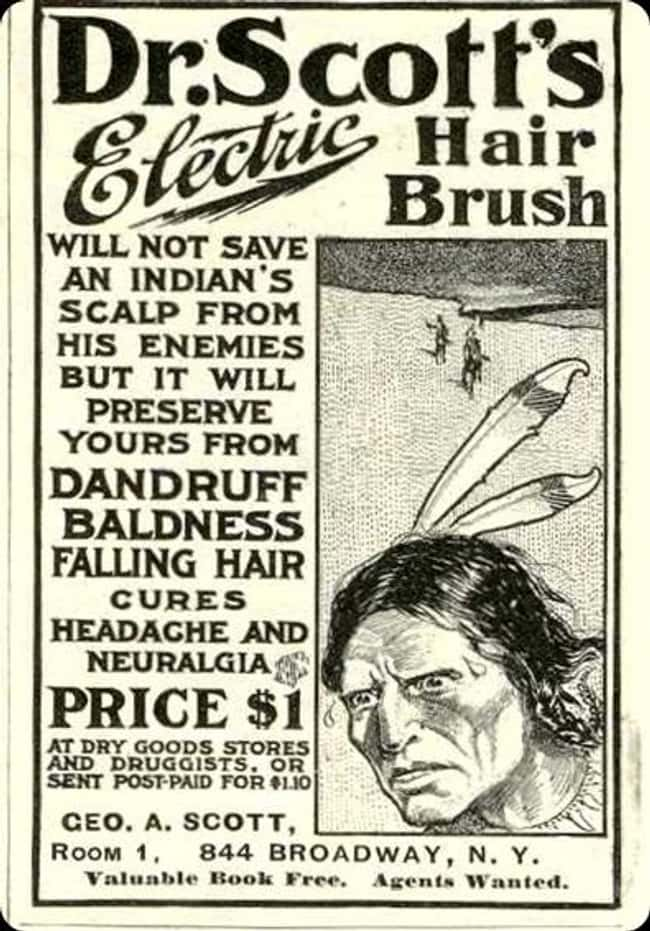 It's Fine, Dandruff Is Wor is listed (or ranked) 9 on the list Vintage Ads That Are Horribly Racist