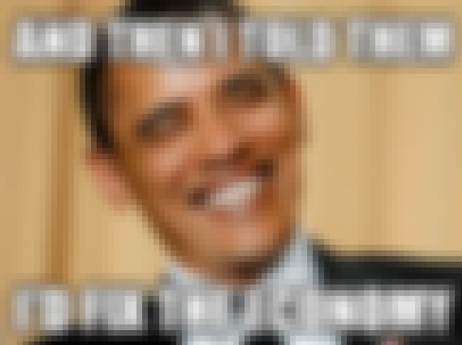 Good one! is listed (or ranked) 2 on the list The Best Barack Obama Memes