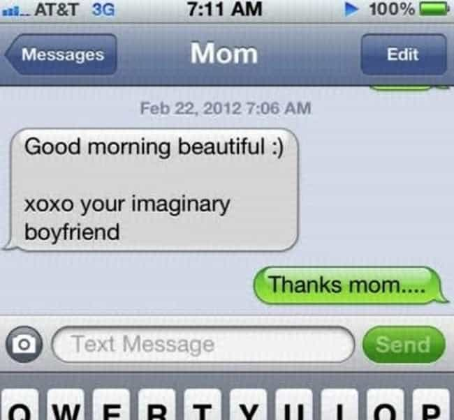 Awkward Texts from Your Mom