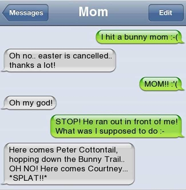 This Mom Who Understands... is listed (or ranked) 3 on the list Awkward Texts from Your Mom