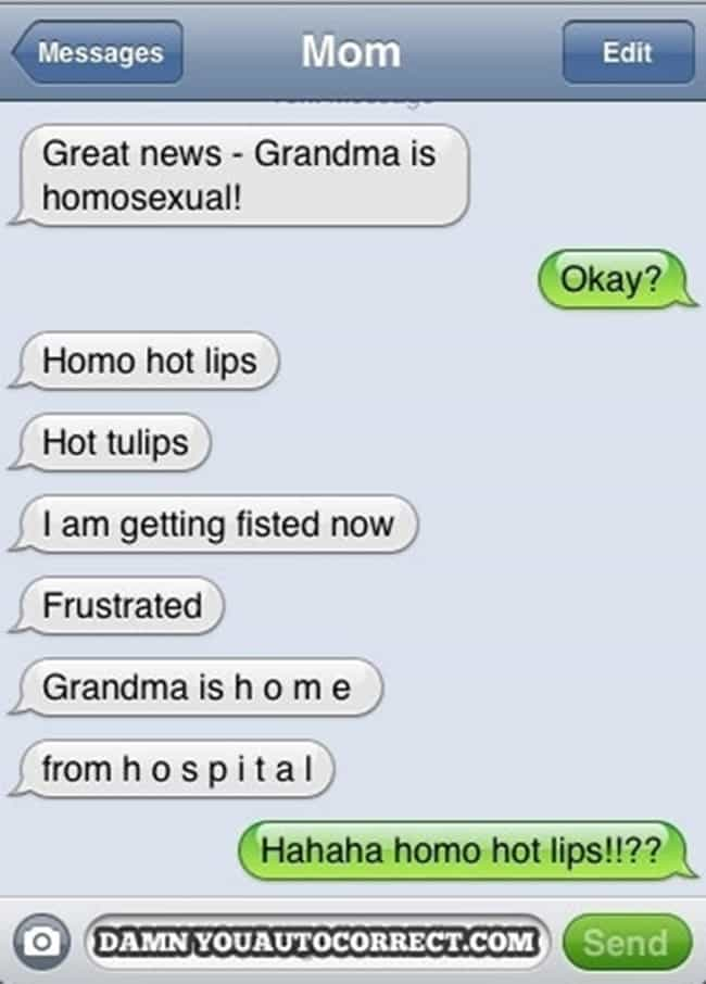 Apparently There's a Lot M... is listed (or ranked) 2 on the list 41 Hilarious Autocorrect Fails