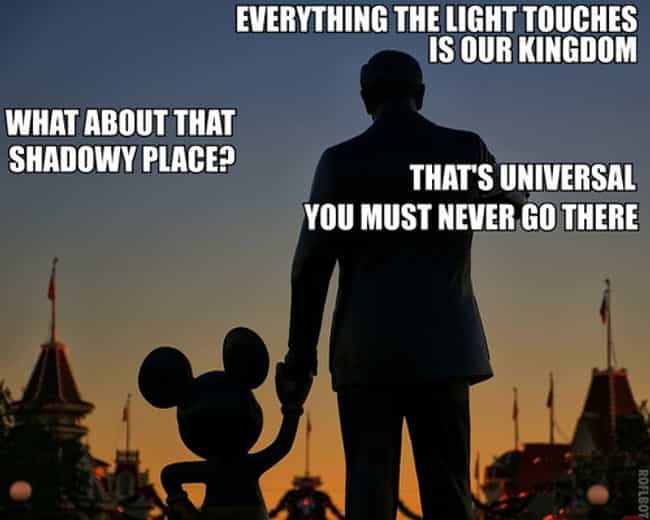 Dark matter matters is listed (or ranked) 3 on the list The Best Disney Memes of All Time