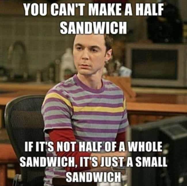 Man's got a point is listed (or ranked) 1 on the list The Best Big Bang Theory Memes
