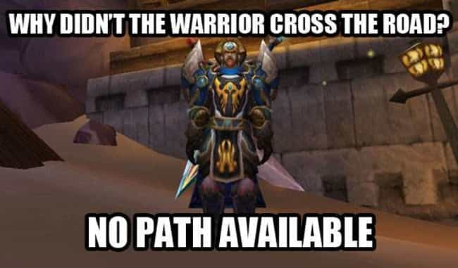 Or he's just chicken is listed (or ranked) 4 on the list The Best World of Warcraft Memes of All Time
