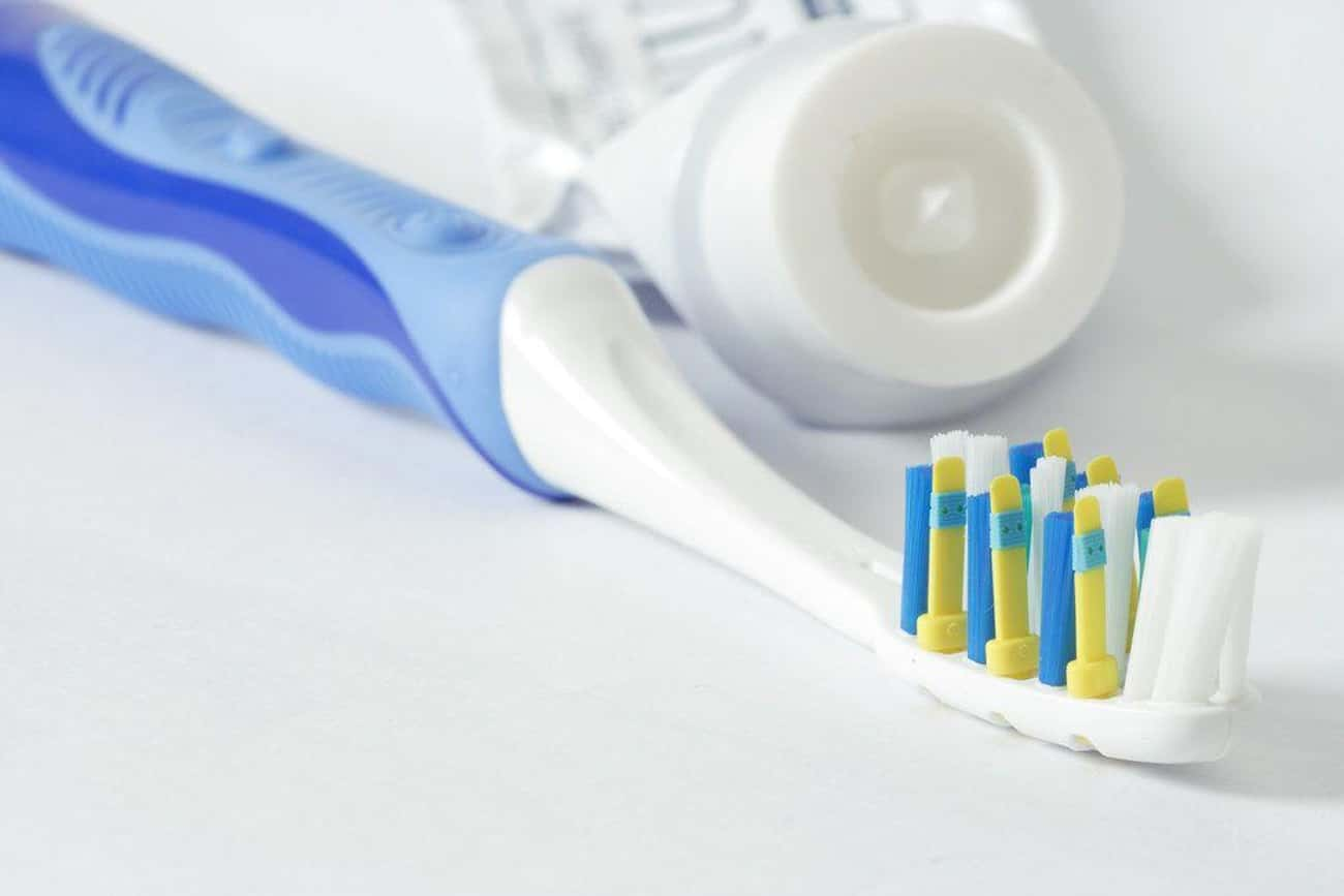 Toothbrushes - Bathroom Germ M is listed (or ranked) 2 on the list 20 Things That Are Dirtier Than a Toilet Seat