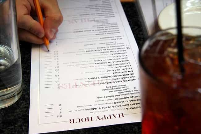Restaurant Menus - 185,000 Bac... is listed (or ranked) 1 on the list 30 Things That Are Dirtier Than a Toilet Seat