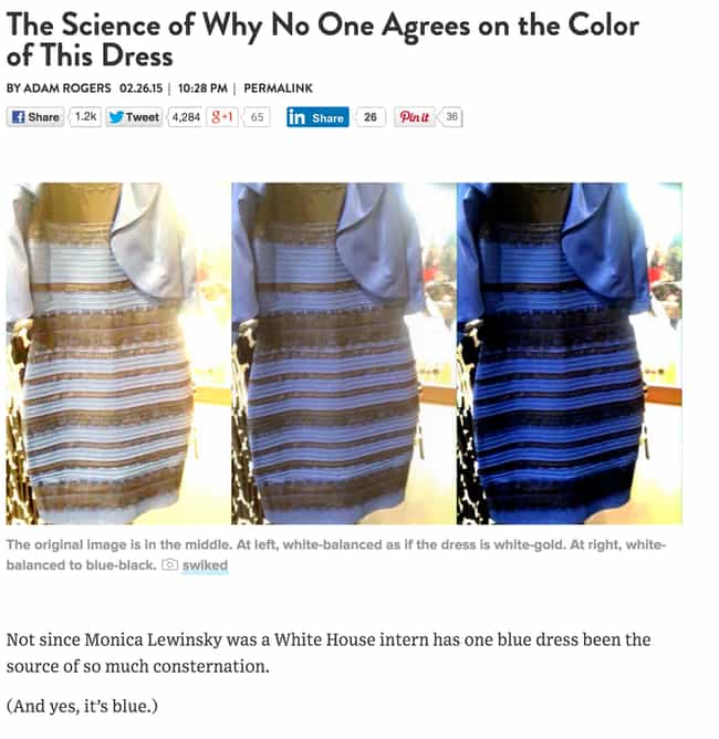 What Color Is This Dress The Answer Plus Funny Tweets And Internet