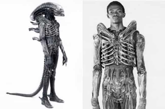 The First Alien Was a Graphic ... is listed (or ranked) 1 on the list 50 Surprising Facts You Didn't Know About Alien