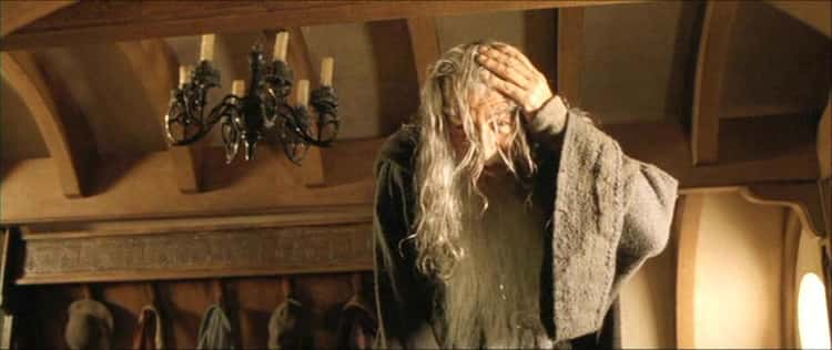 Gandalf Bumping His Head In Bilbo's House Was Not Scripted