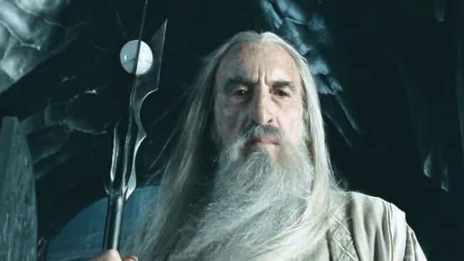 "Saruman Was A Huge ""... is listed (or ranked) 2 on the list 35 Things You Didn't Know About"