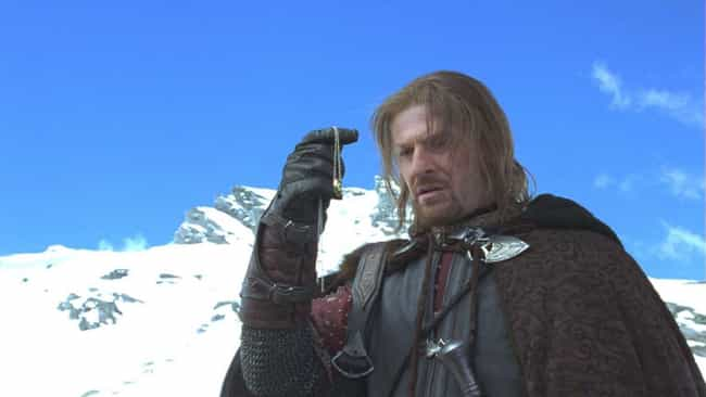 Sean Bean, As Boromir, W... is listed (or ranked) 3 on the list 35 Things You Didn't Know About