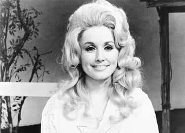 Dolly Parton On Set