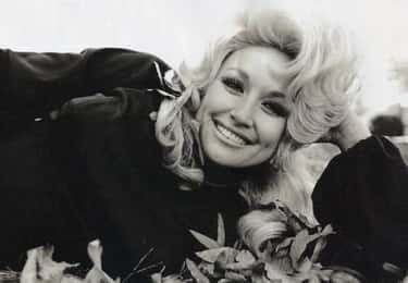 Dolly Parton In Fall Leaves