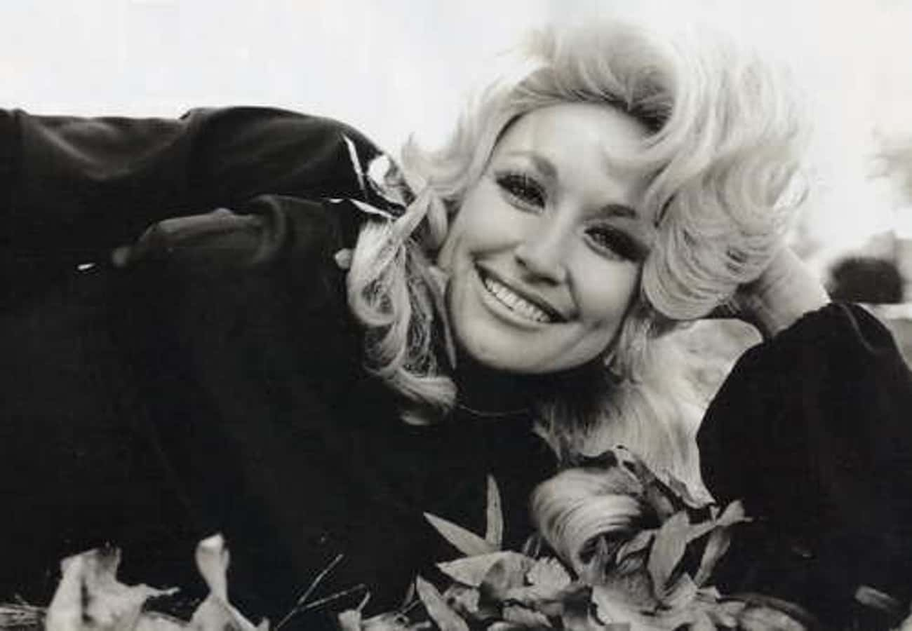 Dolly Parton In Fall Leaves is listed (or ranked) 2 on the list Pictures Of Young Dolly Parton