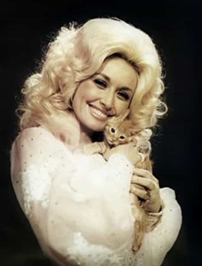 Young DollyHolding Her Kitten is listed (or ranked) 8 on the list Pictures Of Young Dolly Parton