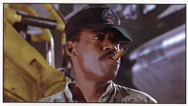 The Marine Sergeant in Aliens ... is listed (or ranked) 3 on the list 50 Surprising Facts You Didn't Know About Alien