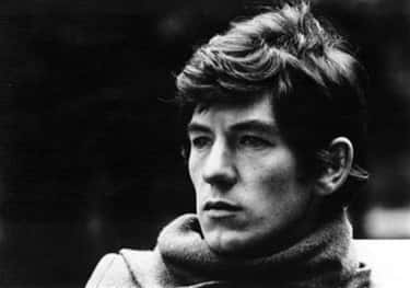 Young Ian McKellen in Gray Turtleneck