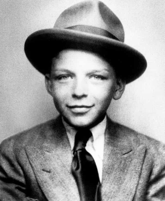 Young Frank Sinatra as a... is listed (or ranked) 1 on the list 20 Pictures of Young Frank Sinatra