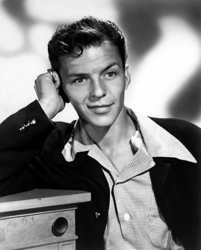 Young Frank Sinatra as T... is listed (or ranked) 2 on the list 20 Pictures of Young Frank Sinatra