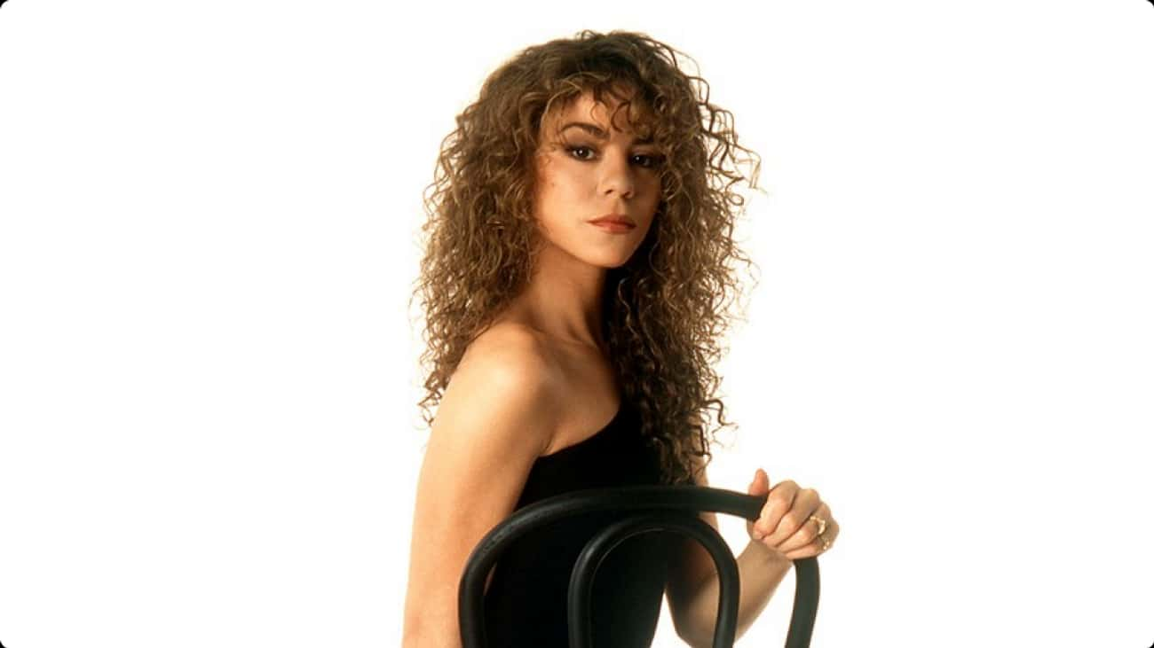 Young Mariah Carey in Black Dr is listed (or ranked) 3 on the list 19 Pictures of Young Mariah Carey