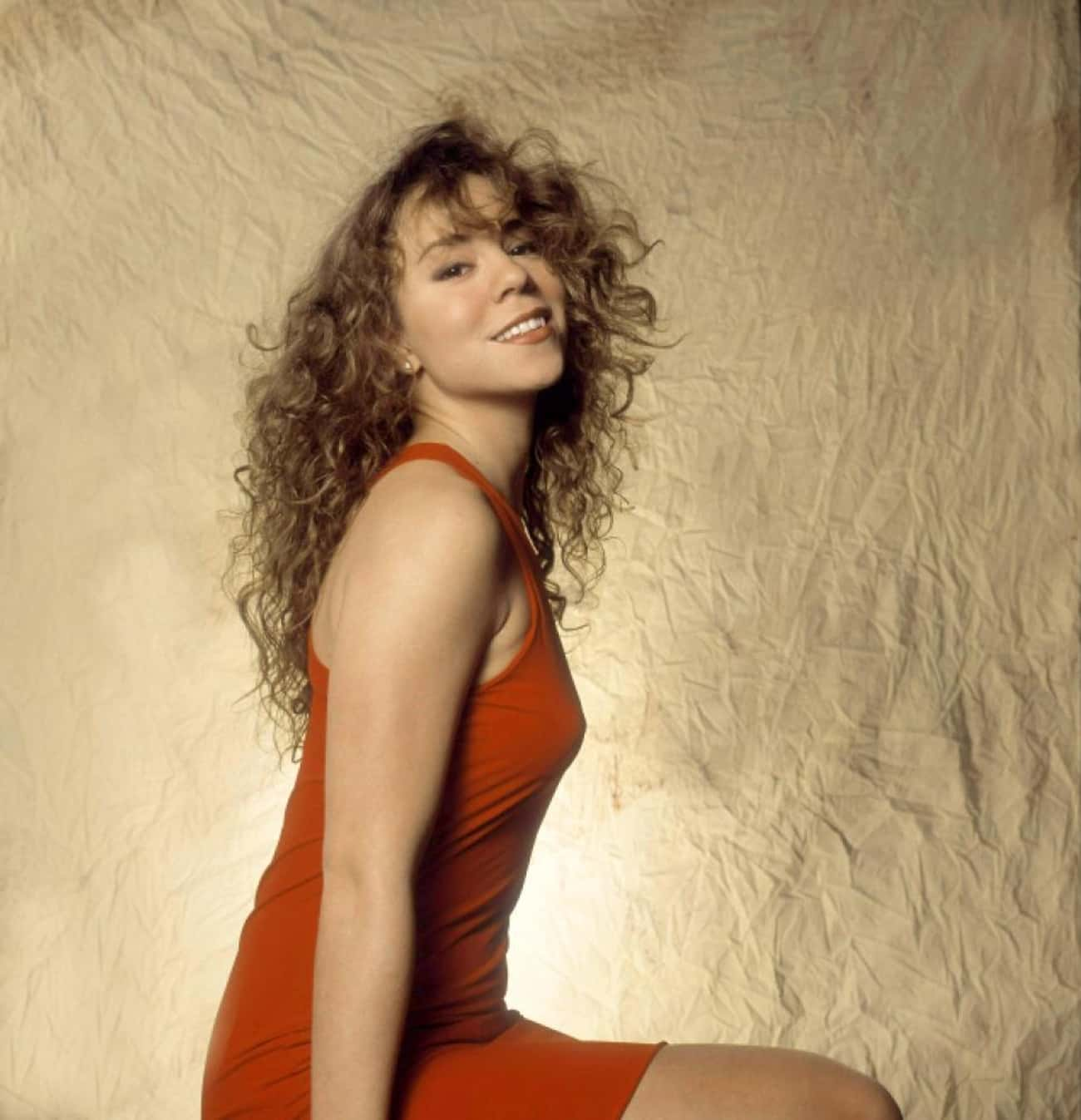 Young Mariah Carey in Orange D is listed (or ranked) 4 on the list 19 Pictures of Young Mariah Carey
