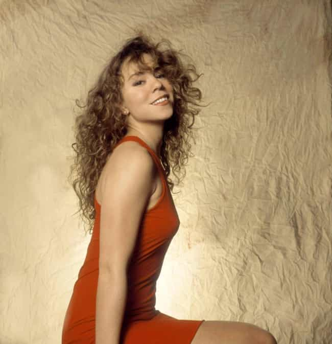 Young Mariah Carey in Orange D... is listed (or ranked) 4 on the list 19 Pictures of Young Mariah Carey