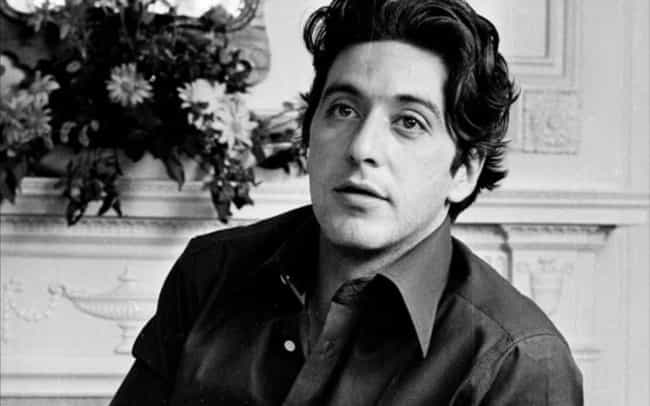 Young Al Pacino in Black Butto... is listed (or ranked) 3 on the list 20 Pictures of Young Al Pacino