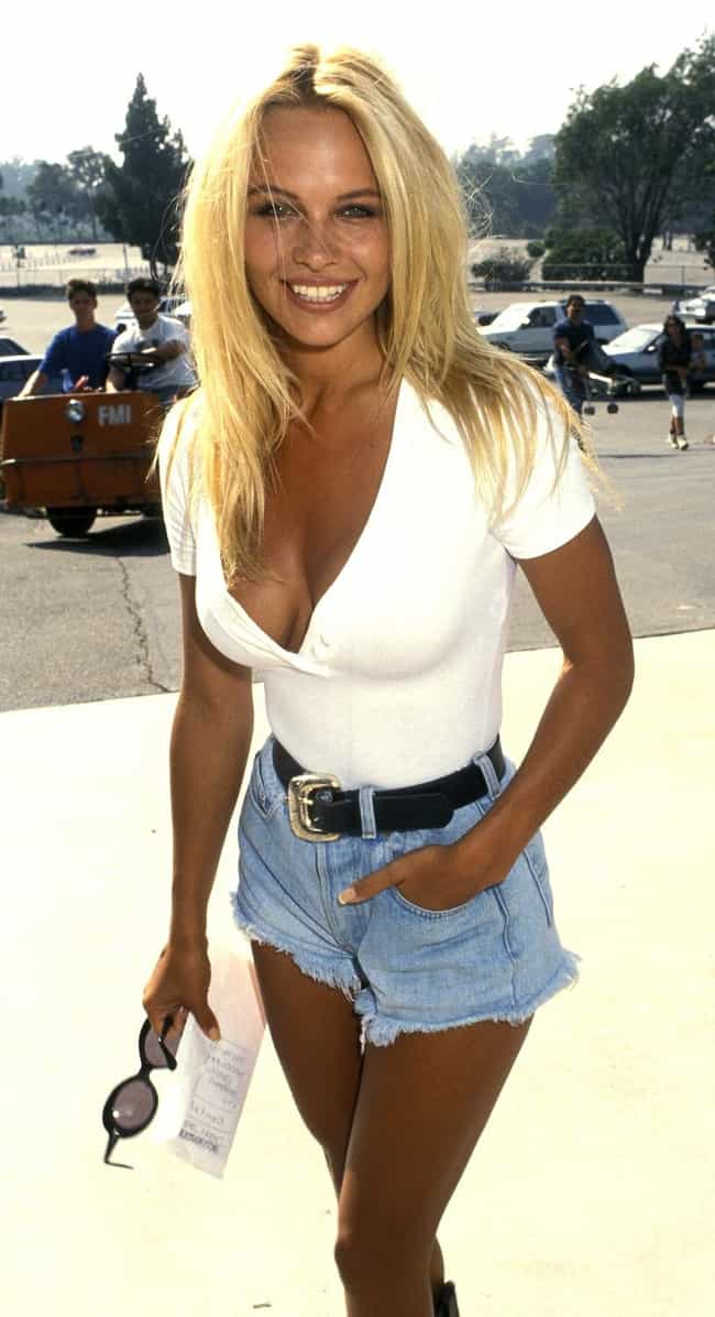 Pam At Disney is listed (or ranked) 4 on the list Pictures Of Young Pamela Anderson