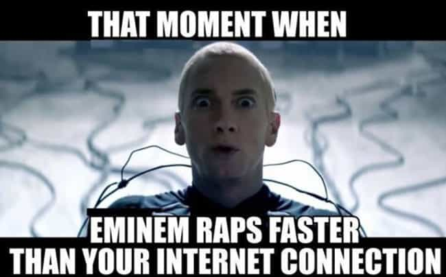 I remember J.J. Fad's Superson... is listed (or ranked) 2 on the list The Best Eminem Memes of All Time