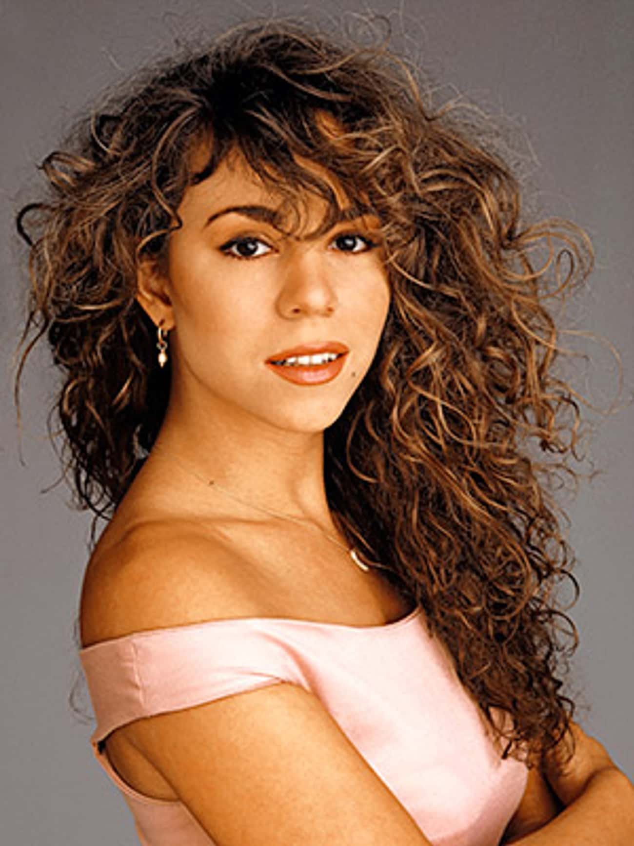 Young Mariah Carey in Pink Dre is listed (or ranked) 2 on the list 19 Pictures of Young Mariah Carey