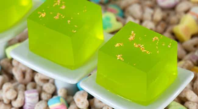 Lucky-tini Jello Shot is listed (or ranked) 2 on the list The Tastiest Drink Recipes for St. Patrick's Day