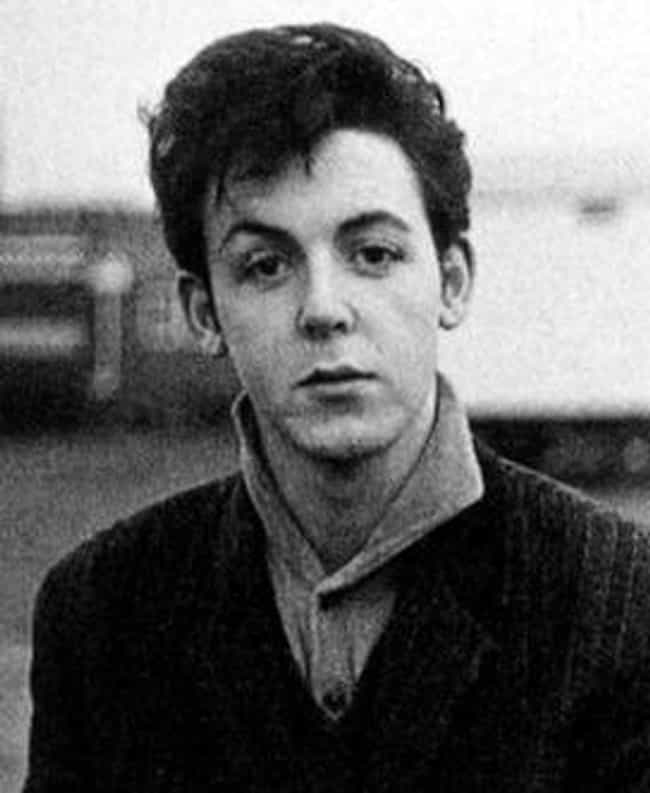 Young Paul McCartney In A Blac Is Listed Or Ranked 2