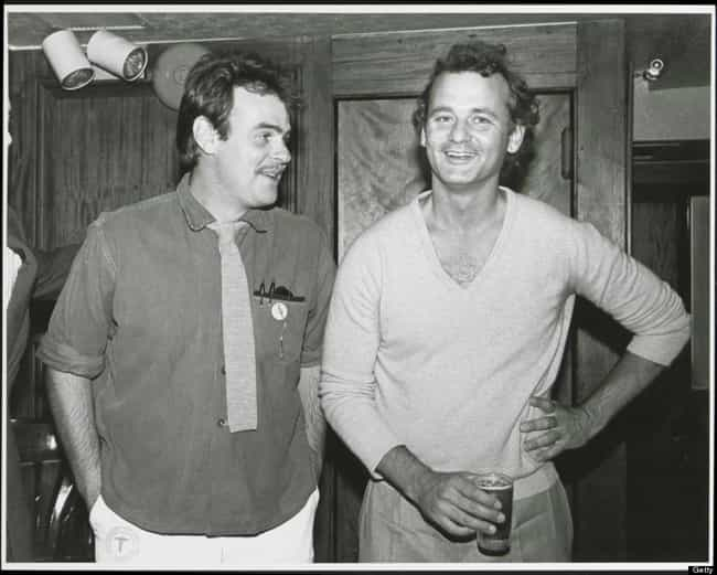 Young Bill Murray in a White V... is listed (or ranked) 3 on the list 12 Pictures of Young Bill Murray