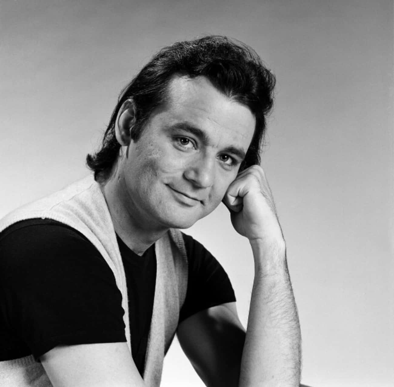 Young Bill Murray in a Black T is listed (or ranked) 4 on the list 12 Pictures of Young Bill Murray