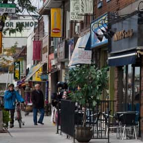 Bloor West Village BIA is listed (or ranked) 15 on the list Toronto Neighbourhoods