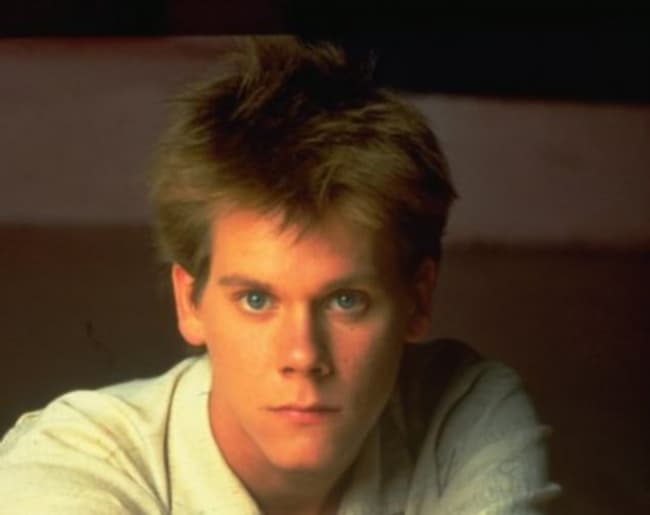 Young Kevin Bacon In A White B Is Listed Or Ranked