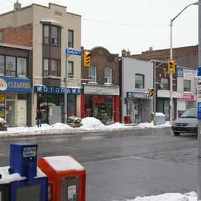 The Danforth BIA is listed (or ranked) 6 on the list Toronto Neighbourhoods