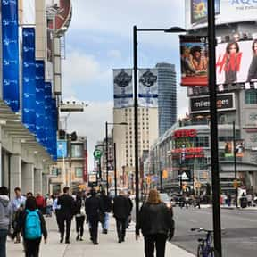Downtown Yonge BIA is listed (or ranked) 14 on the list Toronto Neighbourhoods