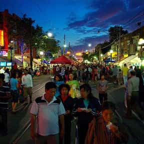 Gerrard India Bazaar BIA is listed (or ranked) 8 on the list Toronto Neighbourhoods