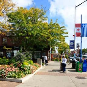 Greektown On the Danforth BIA is listed (or ranked) 11 on the list Toronto Neighbourhoods