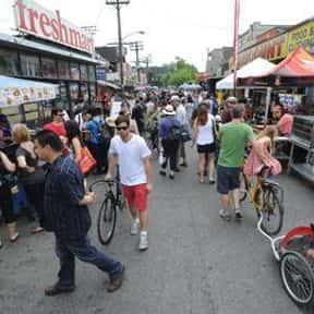 Kensington Market BIA is listed (or ranked) 10 on the list Toronto Neighbourhoods