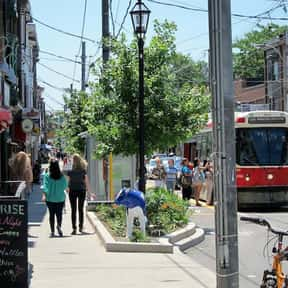 Roncesvalles Village BIA is listed (or ranked) 12 on the list Toronto Neighbourhoods