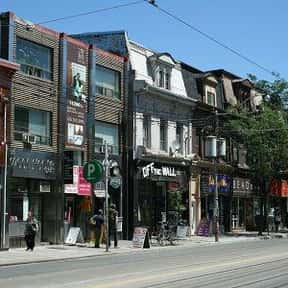 West Queen West BIA is listed (or ranked) 24 on the list Toronto Neighbourhoods