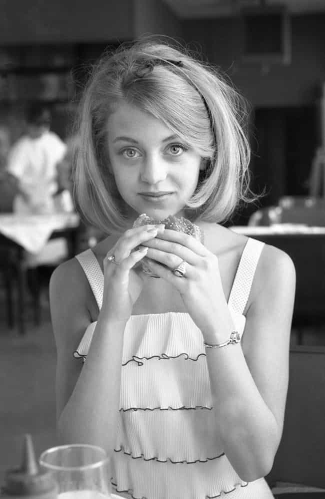 Young Goldie Hawn in a W... is listed (or ranked) 3 on the list 20 Pictures of Young Goldie Hawn