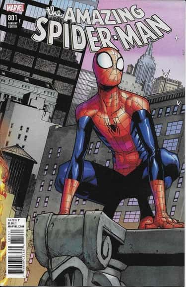 Amazing Spider-Man is listed (or ranked) 1 on the list Who's the Best Spider-Man in the Spider-Verse?